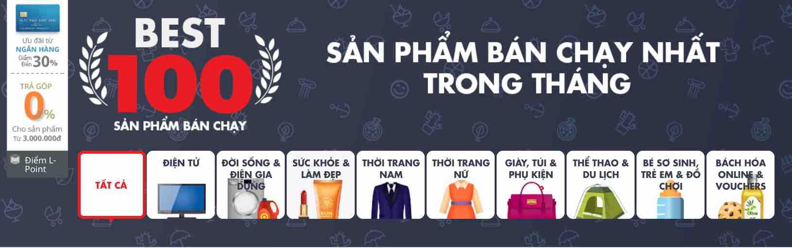 100 san pham ban chay lotte