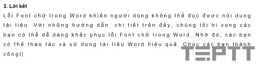 chỉnh lỗi khoảng cách dòng word