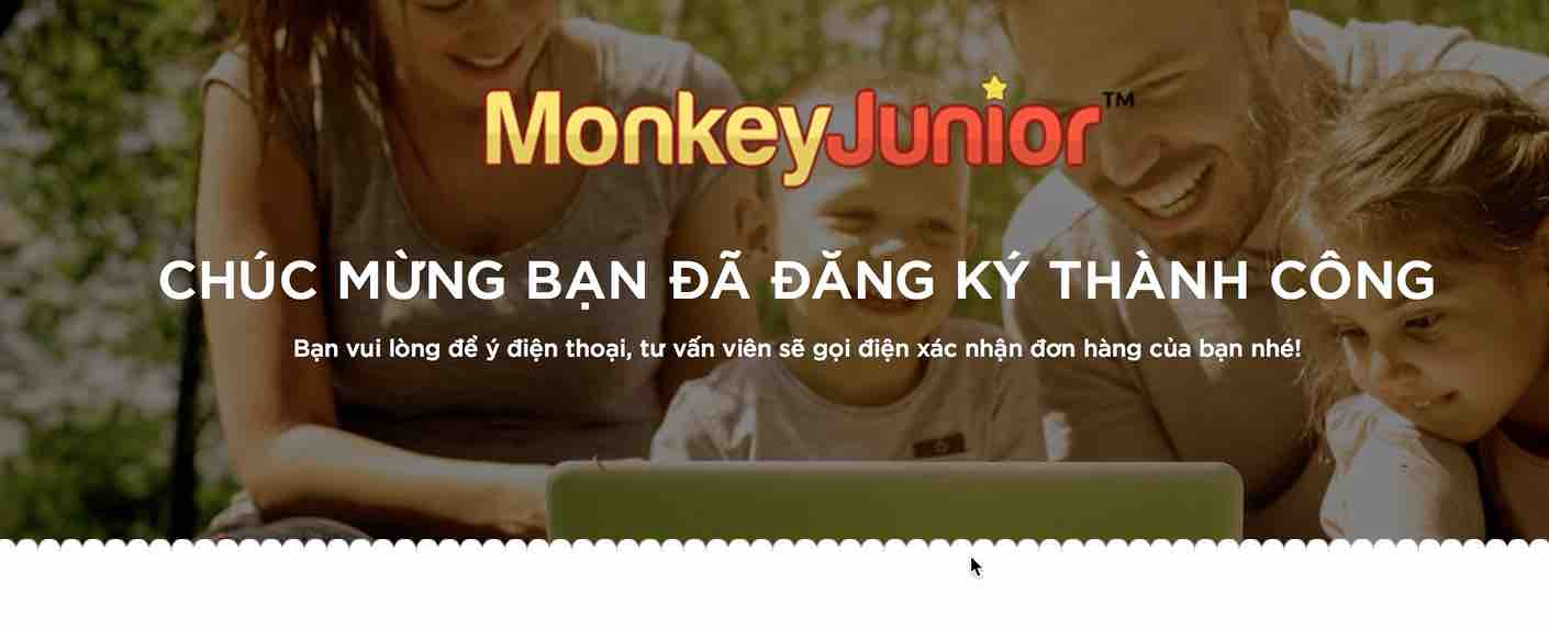 ứng dụng Monkey Junior