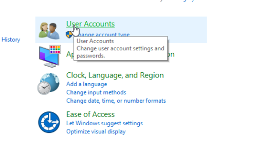 tắt User Account Control