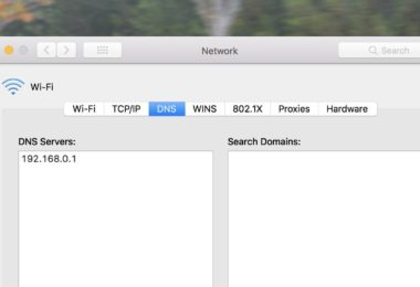 đổi DNS vào Internet
