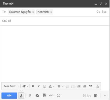 cách gửi email