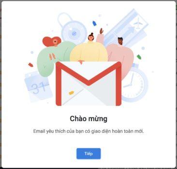 gmail phien ban moi