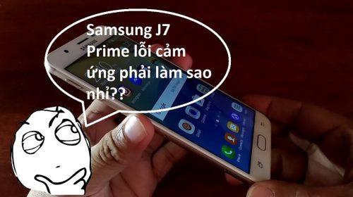 samsung j7 prime loi cam ung phai lam sao