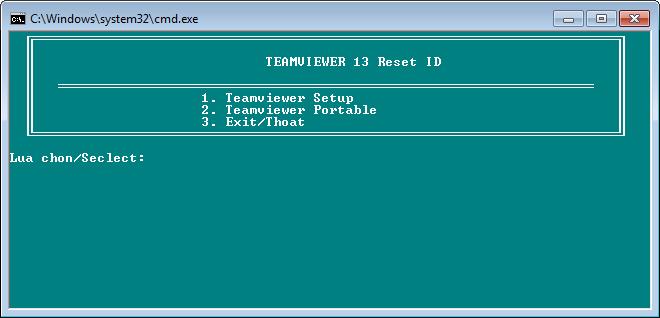 Khắc phục lỗi Teamviewer giới hạn 5 phút hoặc hết hạn dùng thử