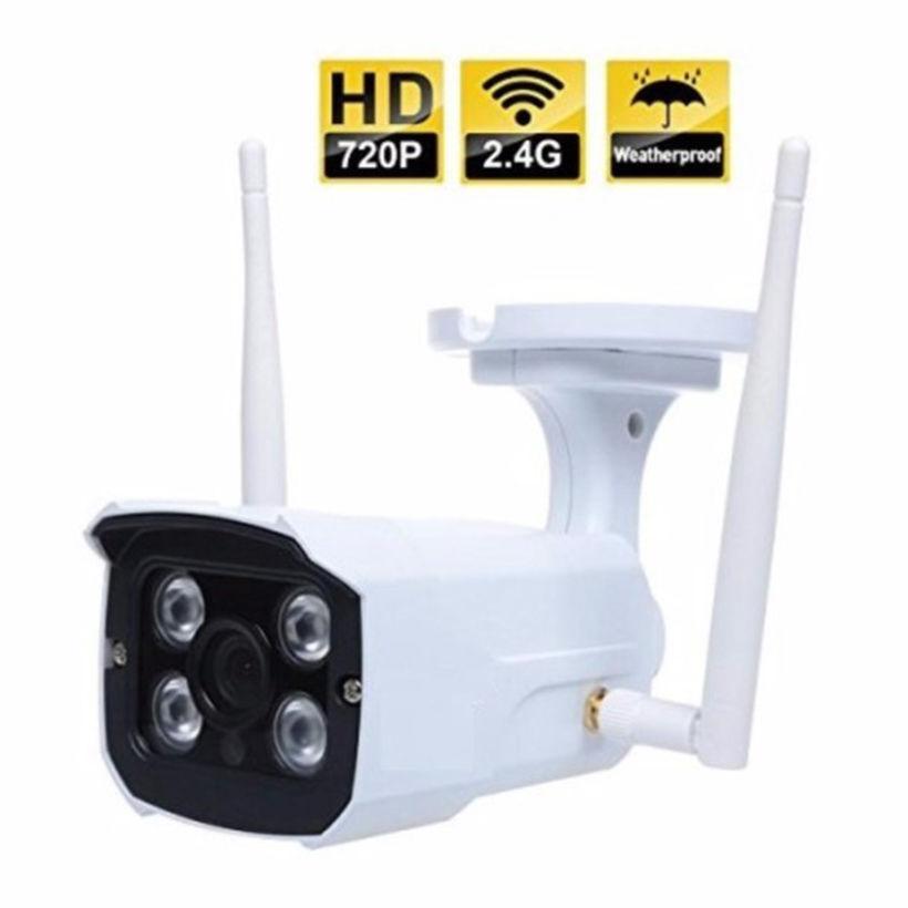 Camera Wifi IP chuyên dụng ngoài trời 2 ăng ten Yoosee thế hệ mới (Trắng)
