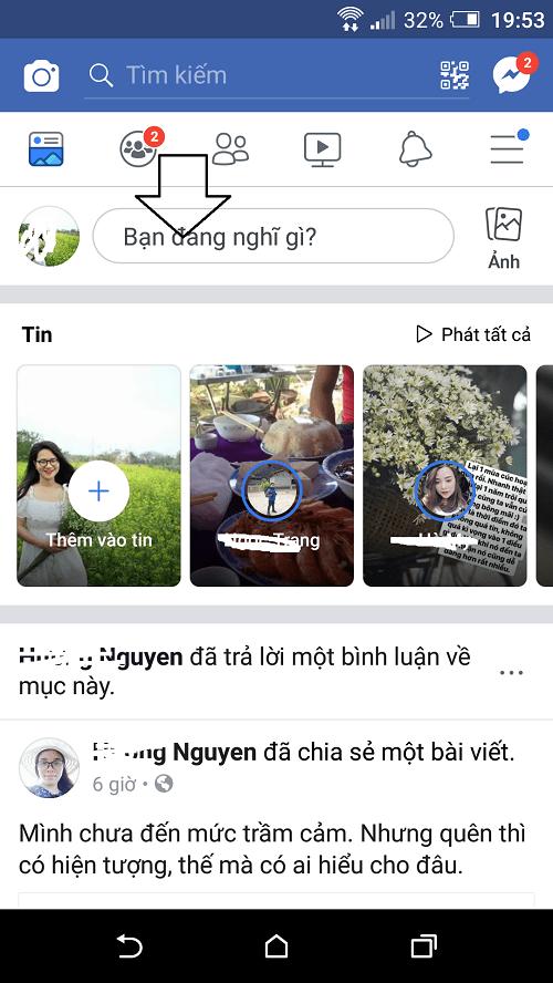 live stream facebook tren dien thoai