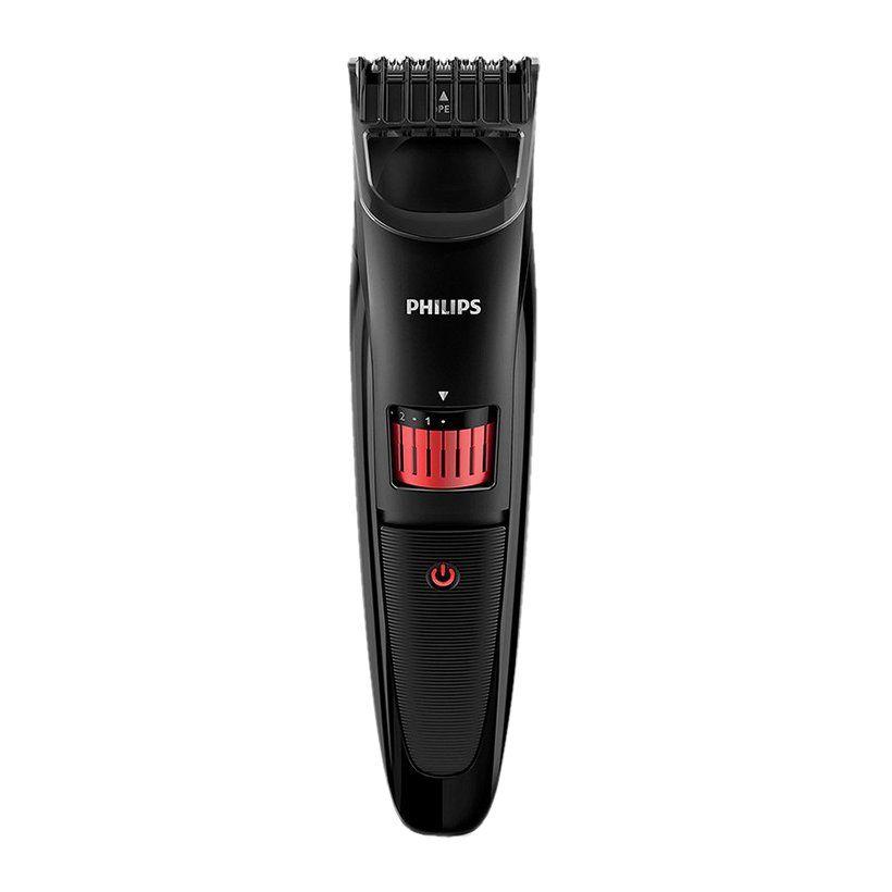 Máy tạo kiểu râu Philips QT4005 (Đen) - Hàng chính hãng