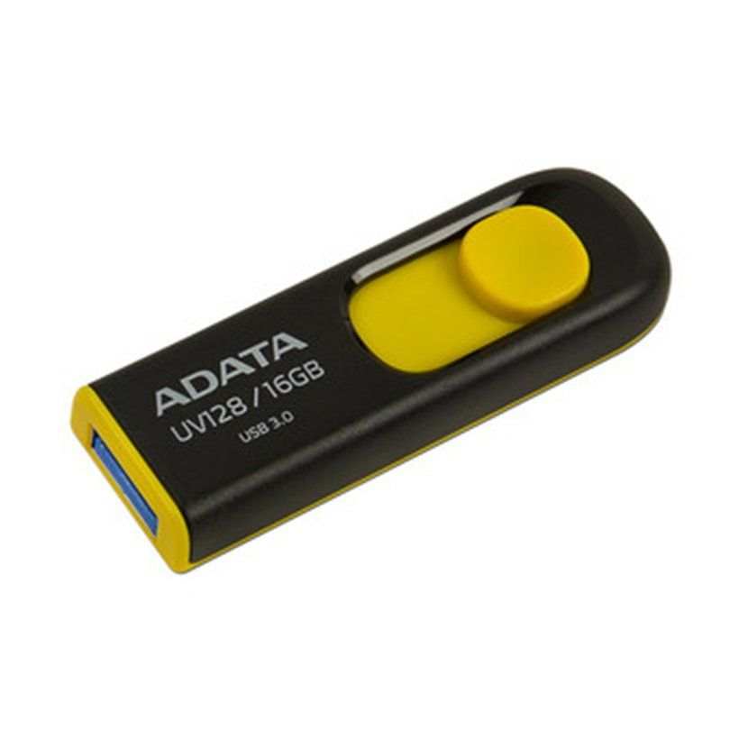 USB 3.0 Adata UV128 16GB Đen vàng