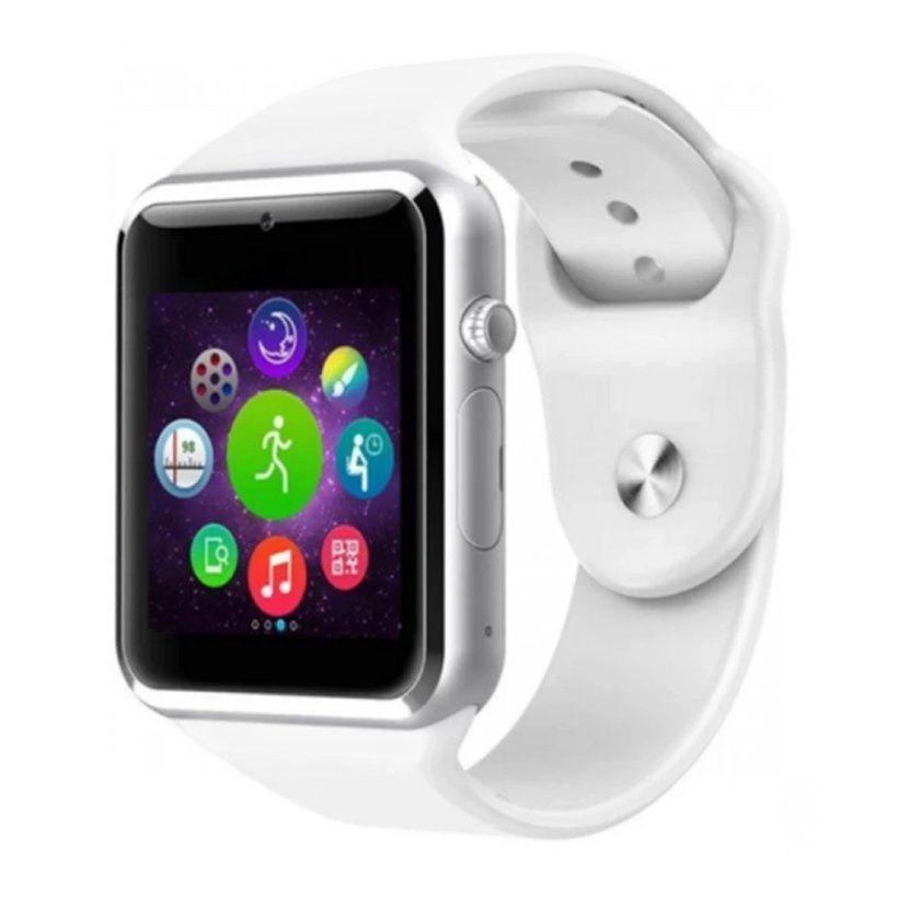 Đồng hồ thông minh Smartwatch A1 (Trắng)
