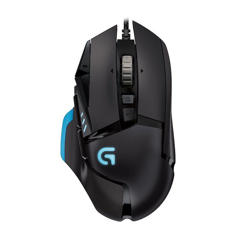 Chuột gaming có dây Logitech G502 Proteus Spectrum Tunable Gaming - Chính hãng