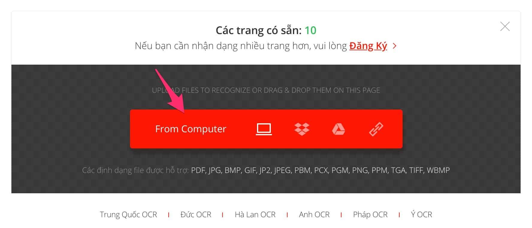 chuyen doi pdf hinh anh sang word