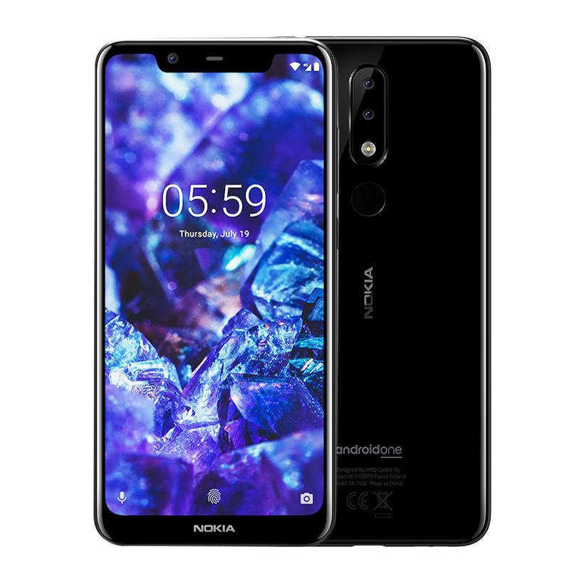 Điện thoại di động Nokia 5.1 Plus 3GB/32GB Đen (Hàng chính hãng)