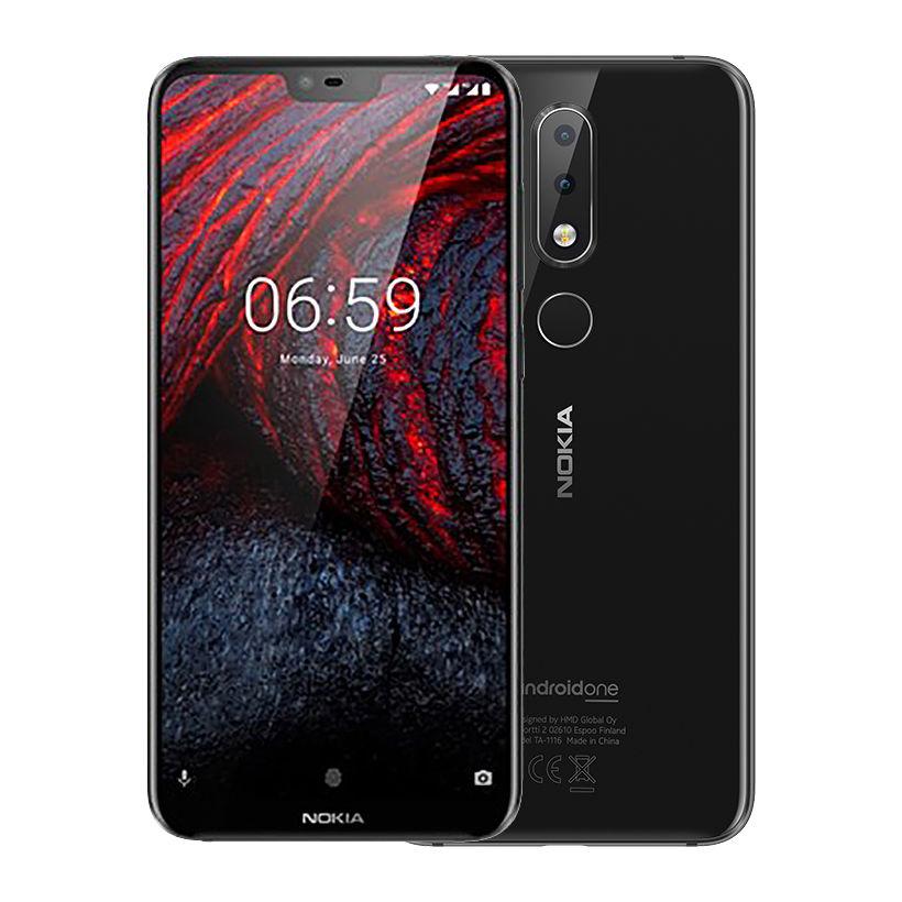 Điện thoại di động Nokia 6.1 Plus 4GB/64GB Đen (Hàng chính hãng)