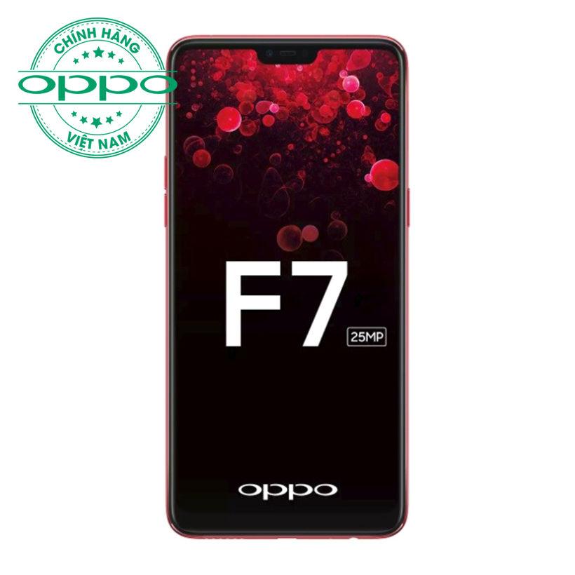 Oppo F7 6GB/128GB Đỏ (Hàng chính hãng)