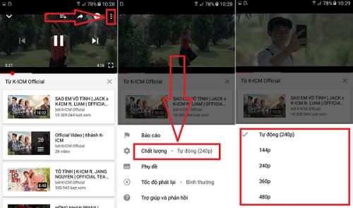 không xem được video trên Youtube