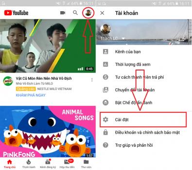 những cách bật darkmode cho Youtube
