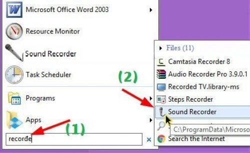 phần mềm ghi âm cho máy tính