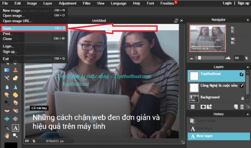 3 công cụ chuyên nghiệp giúp chèn chữ vào ảnh online 19