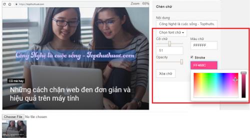 3 công cụ chuyên nghiệp giúp chèn chữ vào ảnh online 24