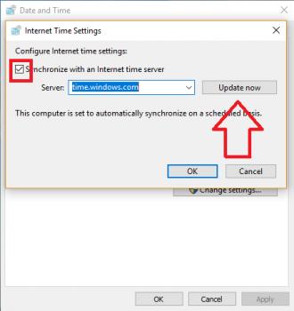 khắc phục lỗi sai thời gian trên máy tính