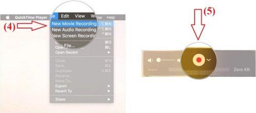 ghi âm và video cuộc gọi FaceTime