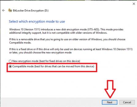 đặt mật khẩu cho USB trên Windows 10