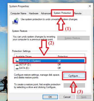 Cách tạo và khôi phục Windows