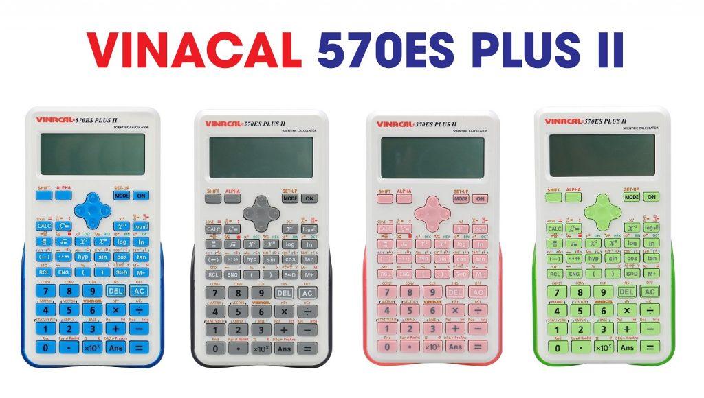 Mua máy tính bỏ túi loại nào tốt nhất giữa Casio FX 570, Vinacal