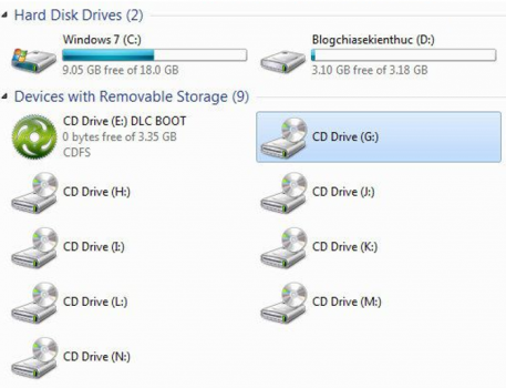 virtual drive computer