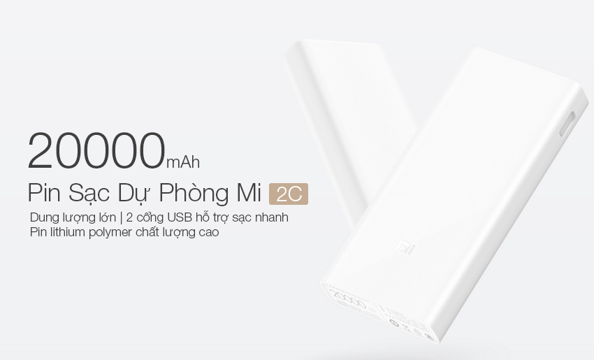 Xiaomi Mi 2C 20.000 mAh