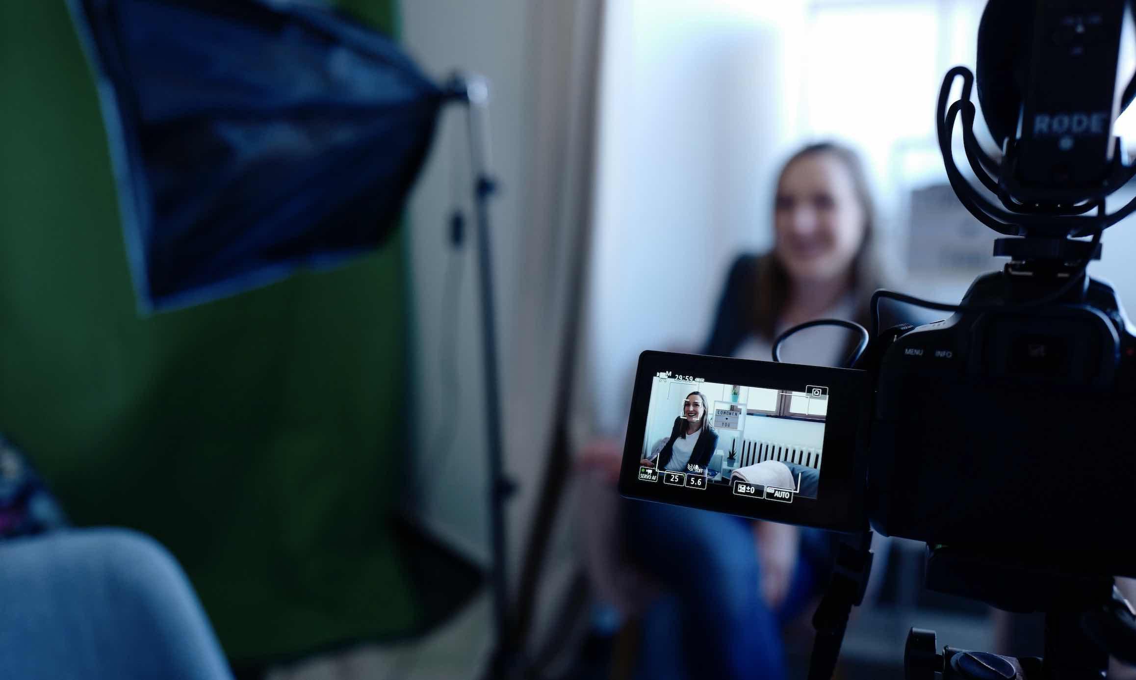 camera quay vlog