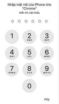 bạn nhập mật khẩu để xem password