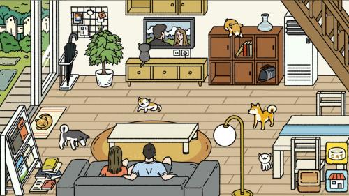 chơi game Adorable Home – Ngôi nhà của tình yêu và những chú mèo trên ios