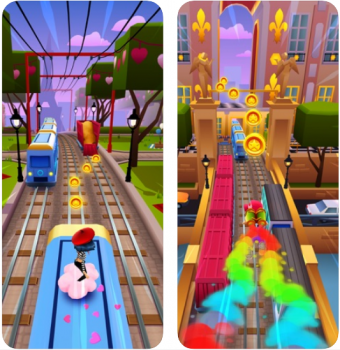 Subway Surfers là game dành cho iPhone