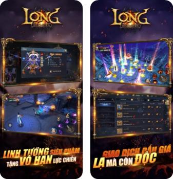 Long Kỷ Nguyên game nhập vai đáng chơi trên iOS