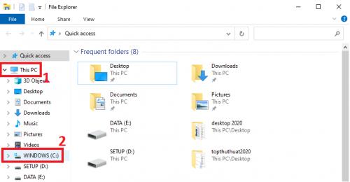 kiểm tra phiên bản windows trên ổ c