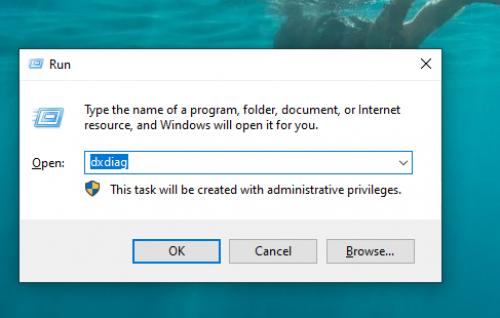 lệnh dxdiag kiểm tra cấu hình máy tính