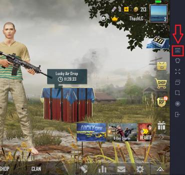 cach choi game pubg mobile tren pc