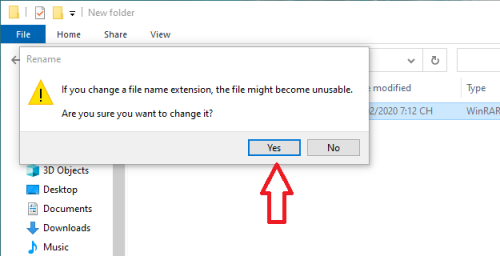 đổi định dạng file