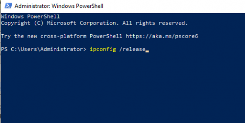 Chạy lệnh trong Windows Power Shell
