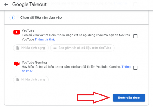 cách lưu dữ liệu từ Google Drive