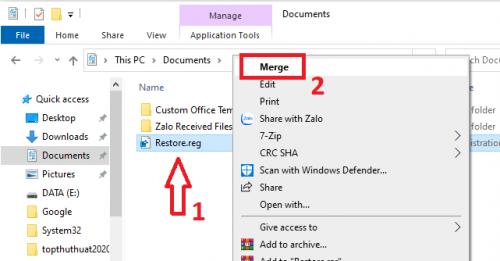khắc phục lỗi file .exe không chạy