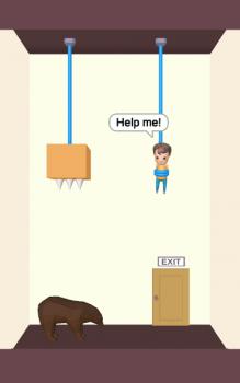 Rescue Cut - Rope Puzzle trò chơi giải đố