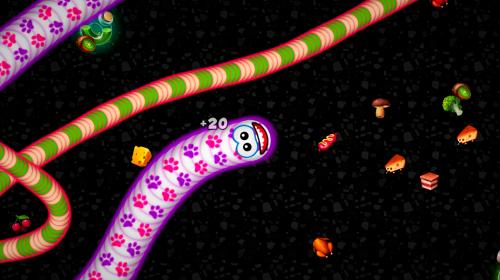 Worms Zone .io - Vùng Giun Đất Rắn phàm ăn