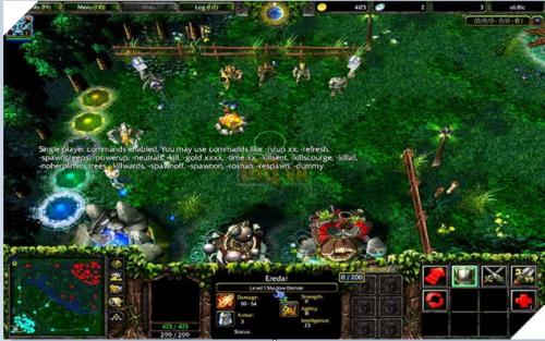 chơi Warcraft trên máy tính PC
