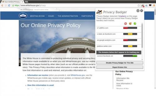 Privacy Badger là tiện ích chặn quảng cáo với mức độ bảo mật cao
