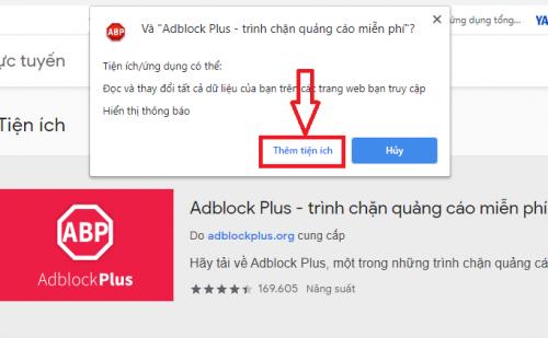 cách cài AdBlock Plus trên Chrome