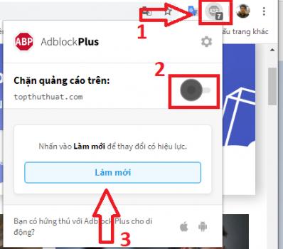 Cách sử dụng AdBlock Plus chặn quảng cáo