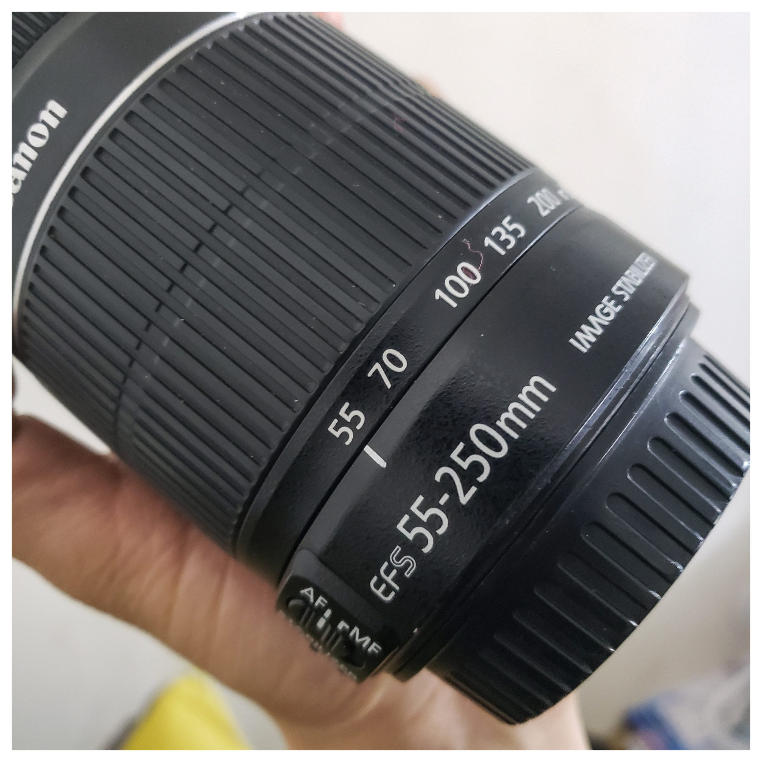 Một chiếc lens zoom của mình